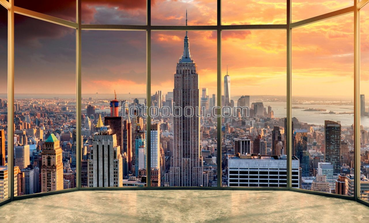 Обои здания, водопад, освещение, красота, набережная. Города foto 11